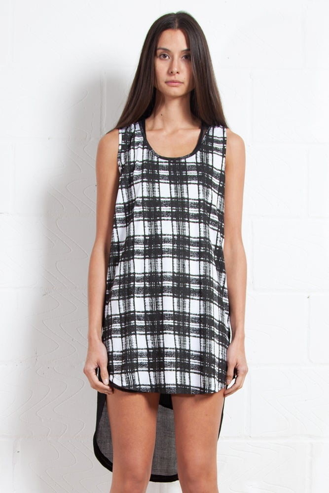 Image of Unisex Check Vest