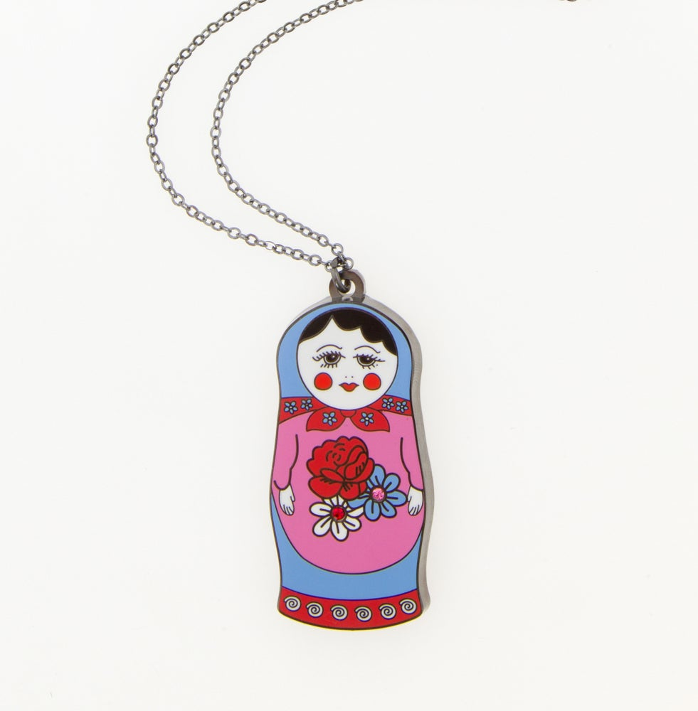 Image of Russian doll Necklace