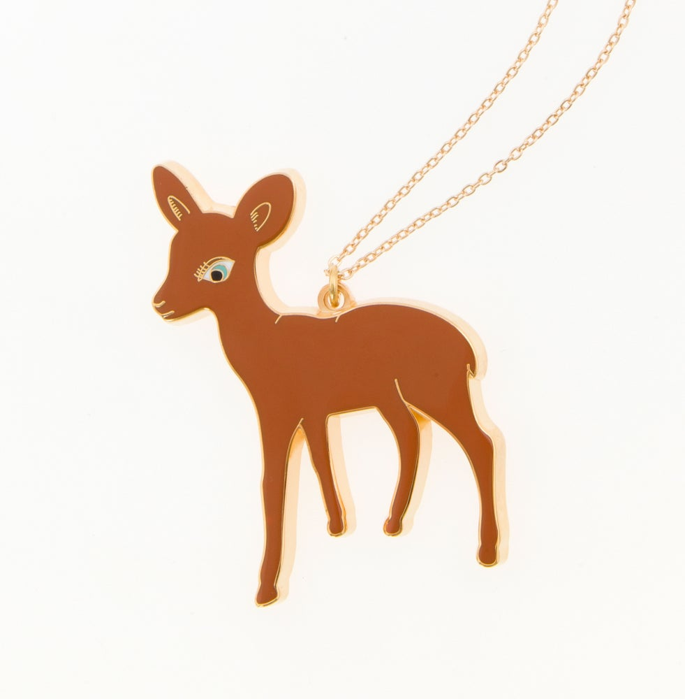 Image of Big Bambi Necklace