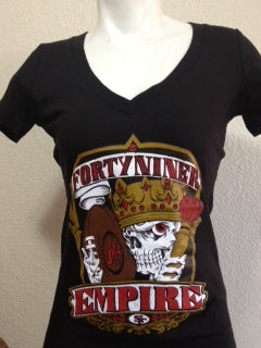 Image of Ladies - Niner Empire Vneck