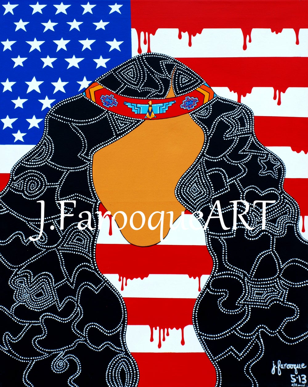 "Image of ""Patriot"" Art Print"
