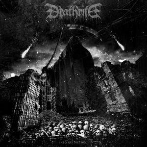 Image of DEATHRITE into extinction LP