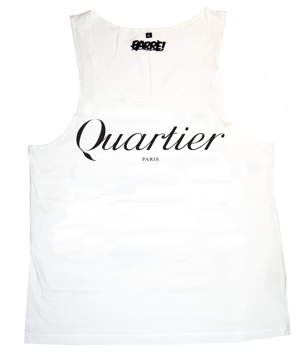 Image of QUARTIER TANK TOP WHT