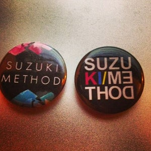 Image of Suzuki Method Ltd Edition Button Badge
