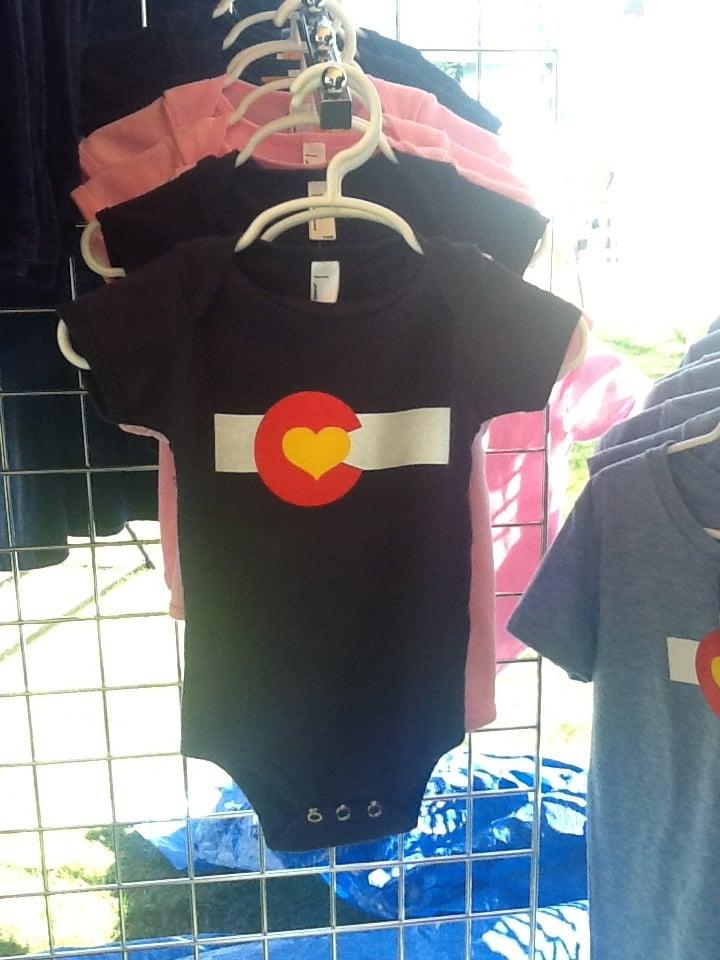 Image of Colorado Love One-pieces- Navy