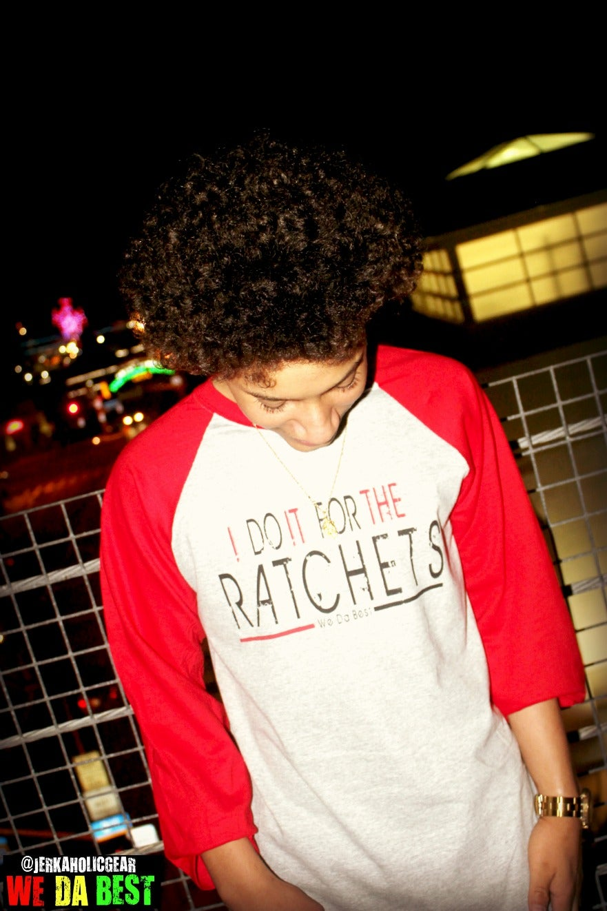 Image of #IDOITFORTHERATCHES RED BASEBALL LIMITED TEE