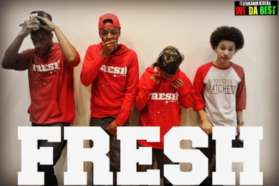 """Image of """"FRESH"""" red HOODIES LIMITED EDITION"""
