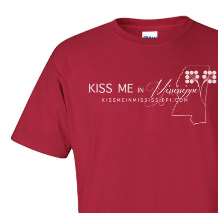 "Image of ""Kiss Me in Mississippi"" T-Shirt"