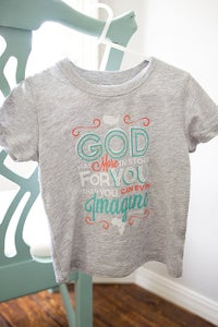 Image of Ephesians 3:20 Toddler T-Shirt