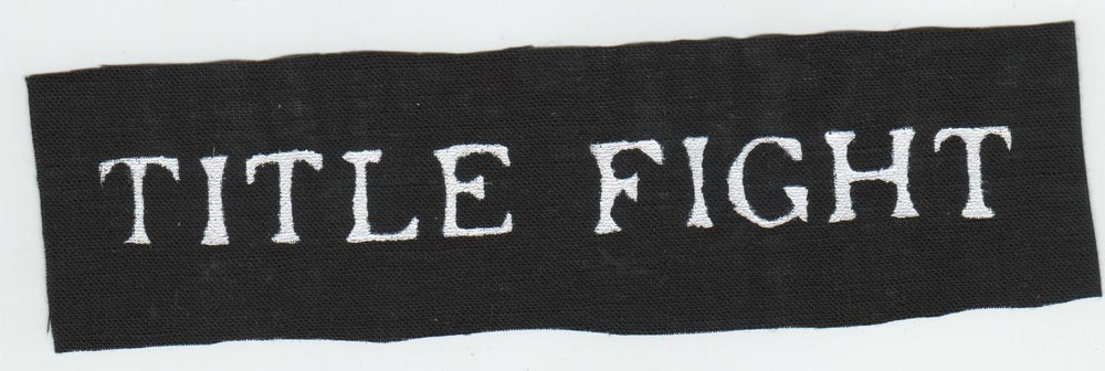 Band Patches — Title Fight patch 4f57917b7fd