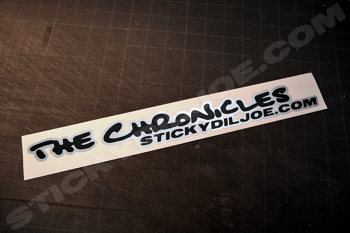 Image of The Chronicles Decal (Original Version) PRE-ORDER