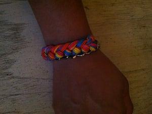 Image of Woven chain bracelet