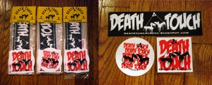 Image of Death Touch Sticker Pack