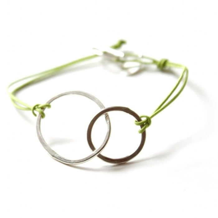 Image of Double loop bracelet