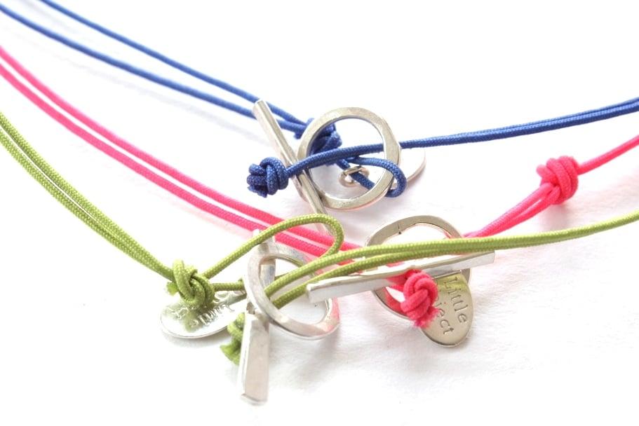 Image of Double loop bracelet