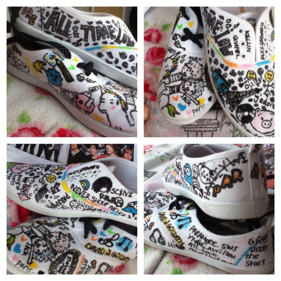 ff0bf17138f7 Bandit Shoes — Personalised Pumps