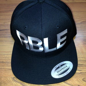 "Image of Classic RBLE Snapback ""Black & White"""
