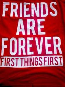 Image of Friends Are Forever Tank