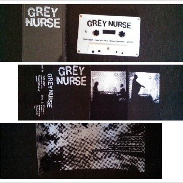 Image of GREY NURSE s/t CASSETTE