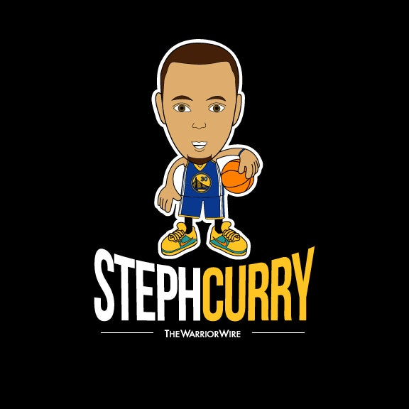 """Image of """"Steph Curry"""" Tee - Color: BLACK"""