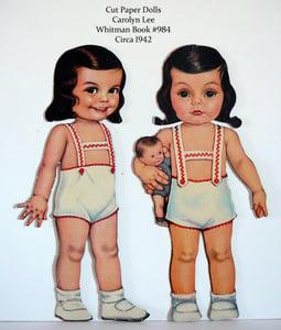 image de Paper dolls brunes