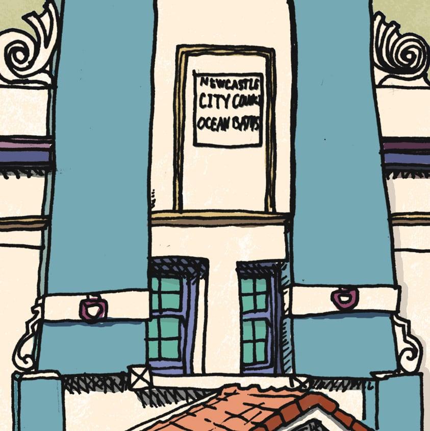 Image of Newcastle Baths Limited Edition Digital Print