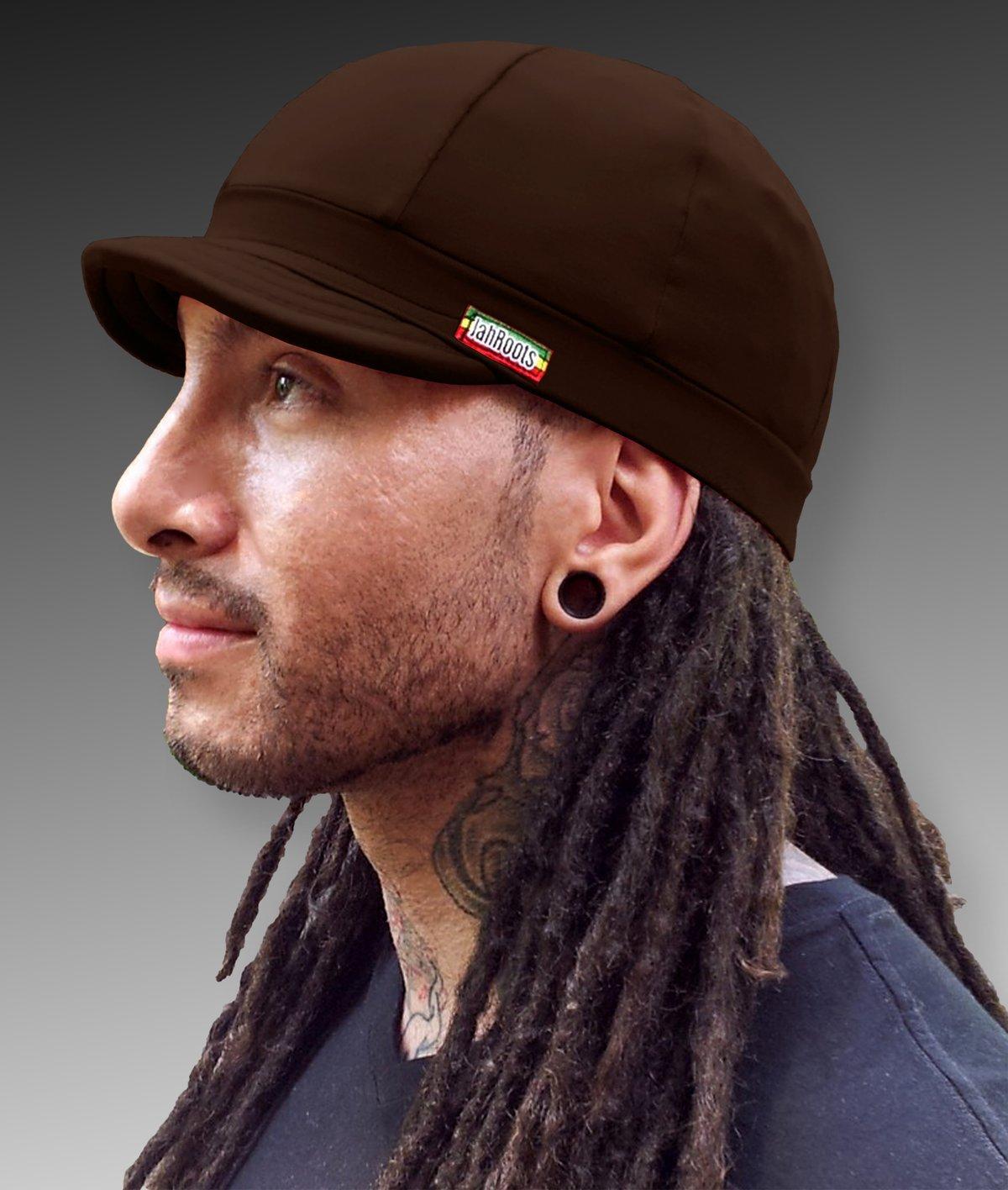 Image of Jah Roots Caps (Brown)