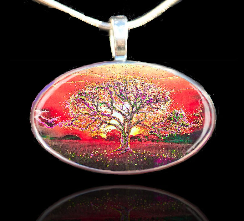 Image of Theta Healing Tree Pendant