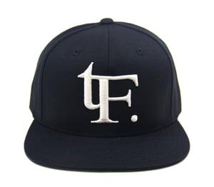 "Image of TFHH Classic Logo ""TF."" Snapback (blk/wht)"