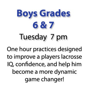 Image of Tuesday Boys Grades 6 & 7