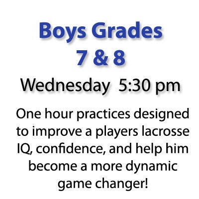 Image of Wednesday Boys Grades 7 & 8