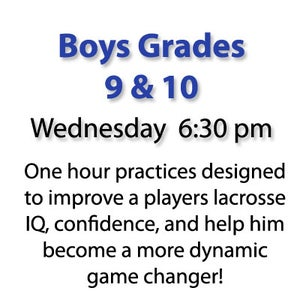 Image of Wednesday Boys Grade 9 & 10