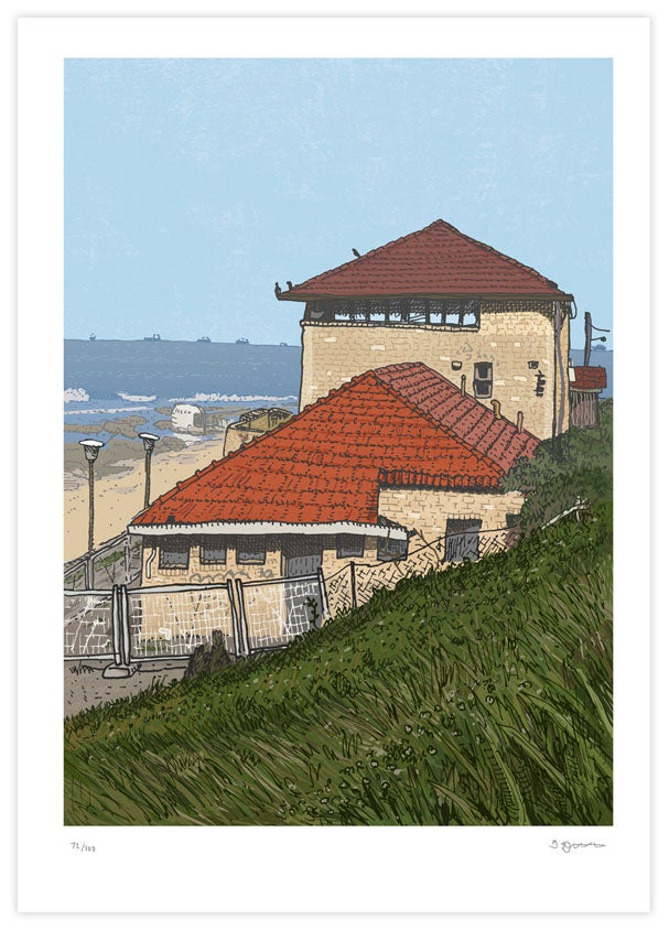 Image of Merewether Surf House Limited Edition Digital Print