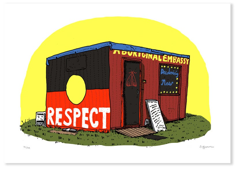 Image of Aboriginal Embassy Limited Edition Digital Print