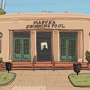 Image of Manuka Pool Limited Edition Digital Print