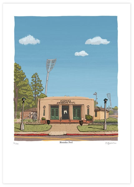 Image of Manuka Pool Limited Edition Digital Print