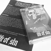 """Image of Drawn In """"Life Of Sin"""" Cassette Tape"""