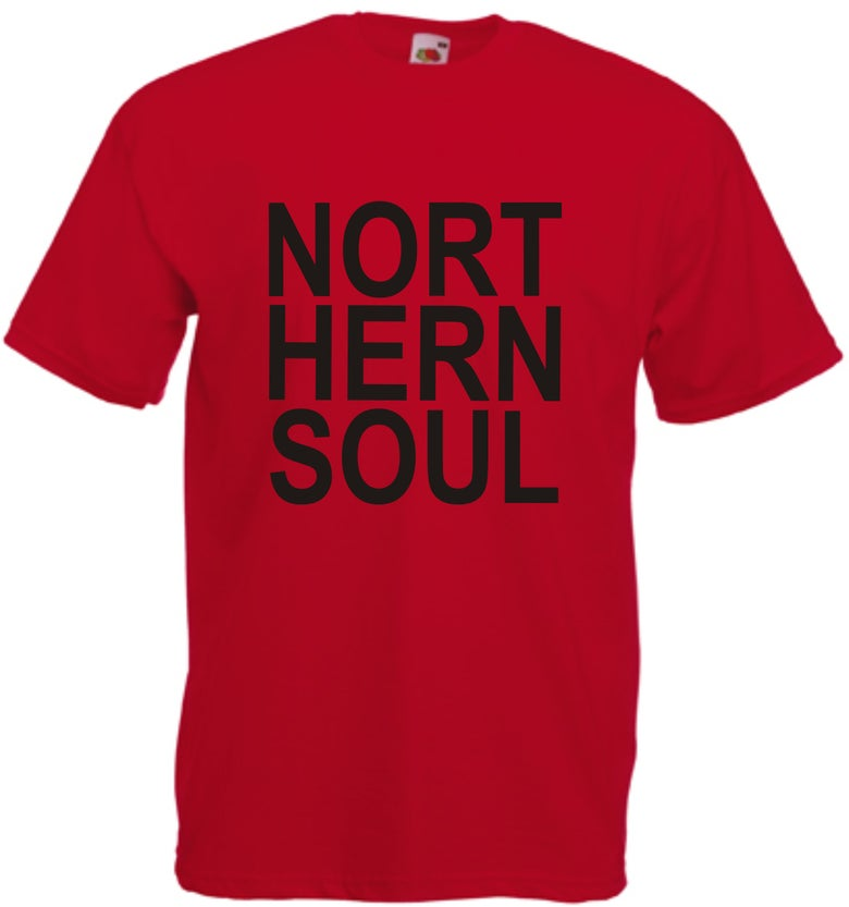 Image of Block Lettering Northern Soul
