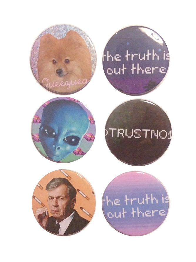 Image of THE X-FILES BUTTONS