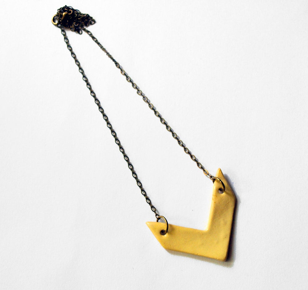 Image of Chevron Necklace