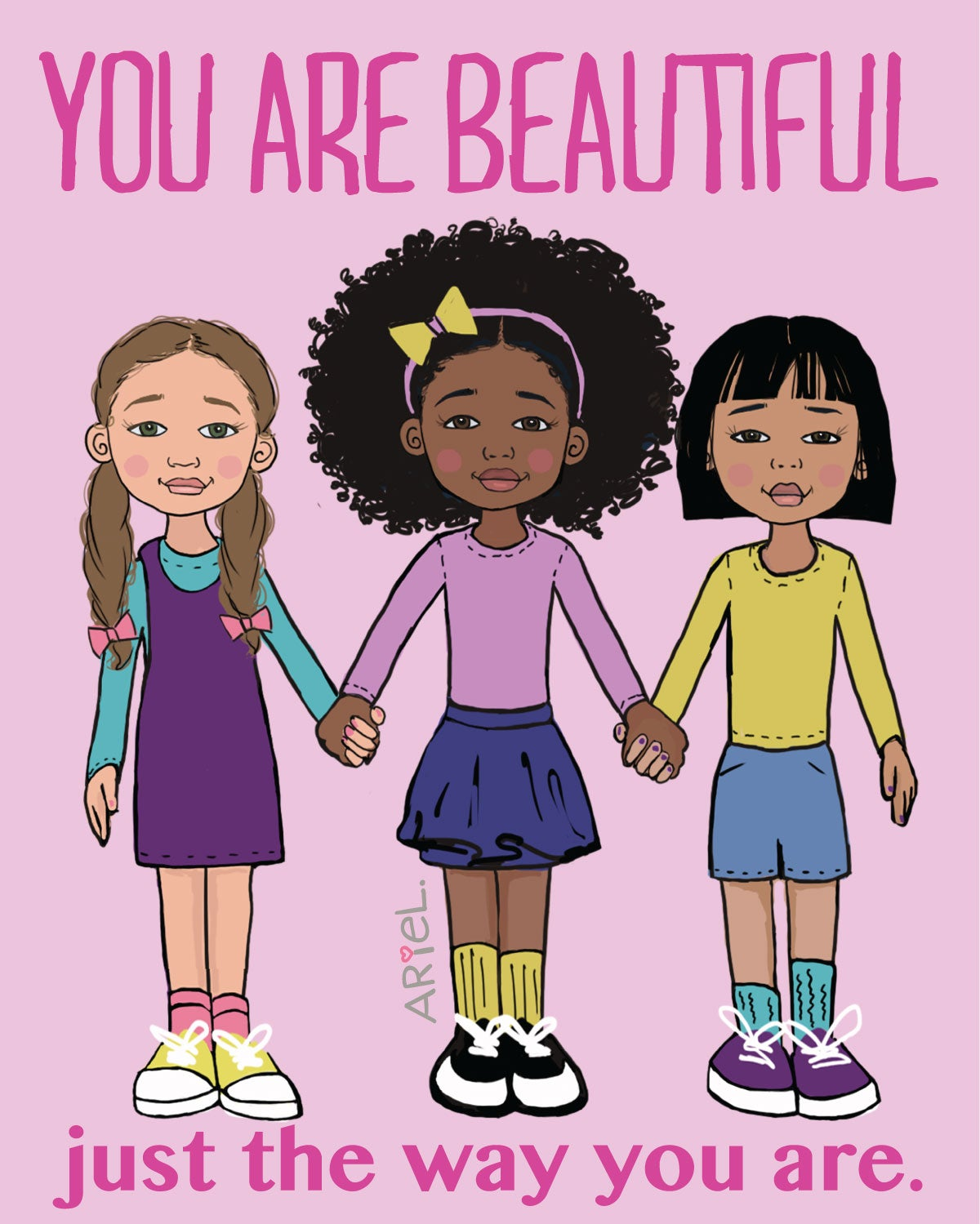 Image of You are Beautiful POSTER/PRINT