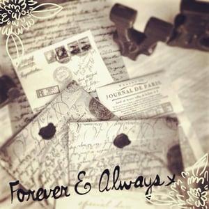 Image of Love Letter tea favours