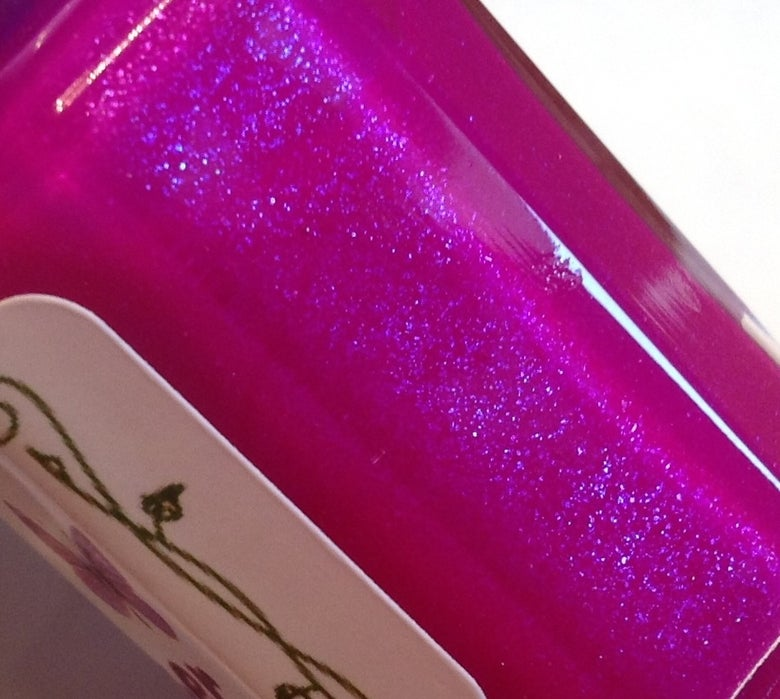 Image of Grape POP! 3 free handmade nail polish.