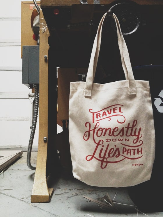 Image of Travel Honestly Tote