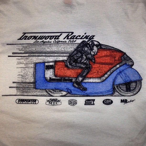 Image of Ironwood Racing Ladies's T-shirt