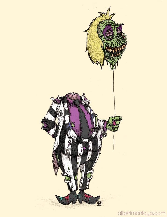"""Image of Print """"Zombie Juice"""""""