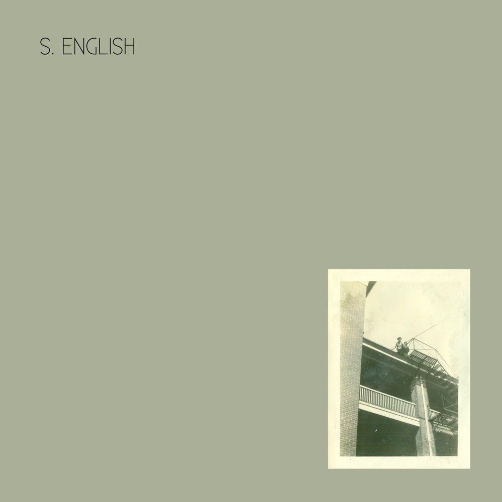 Image of S. English - Fugitive (dsr087LP) - first pressing - clear vinyl