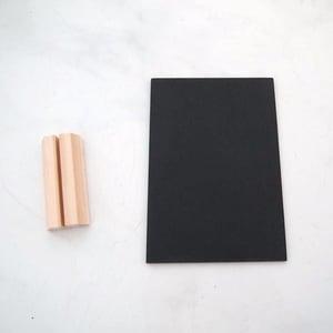 Small chalkboard in a Slot (2 chalkboards)