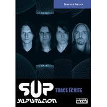 """Image of """"trace écrite"""" livre sur S.U.P/SUPURATION par Jérémie Grima"""