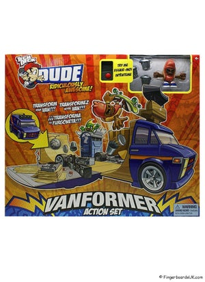 Image of Tech Deck Dudes Vanformer Action Set
